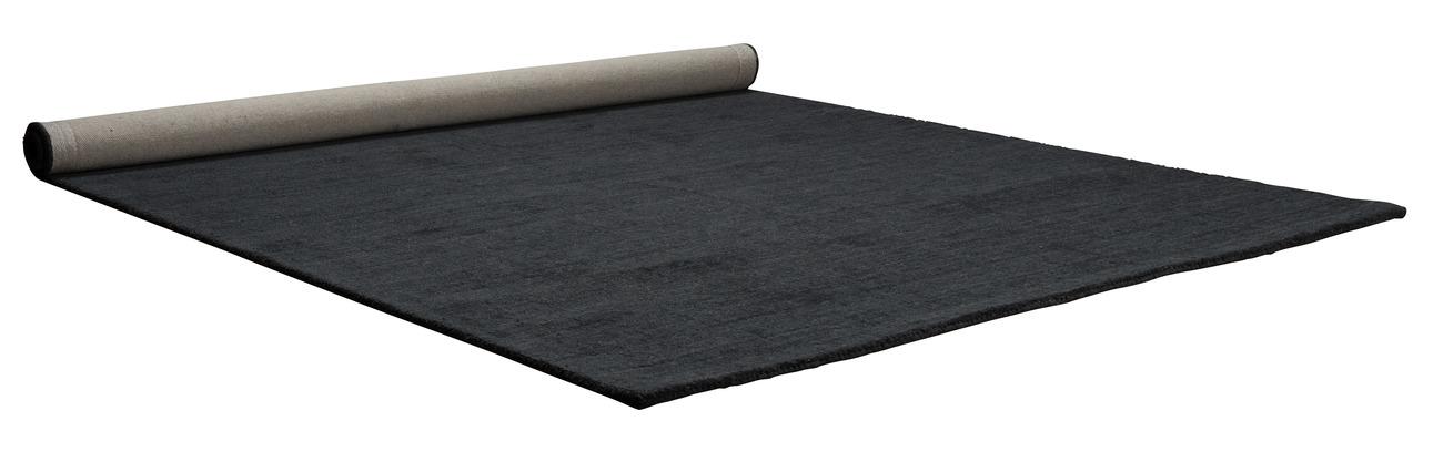 Zuiver Barletta vloerkleed-Donker grijs-200x300 cm