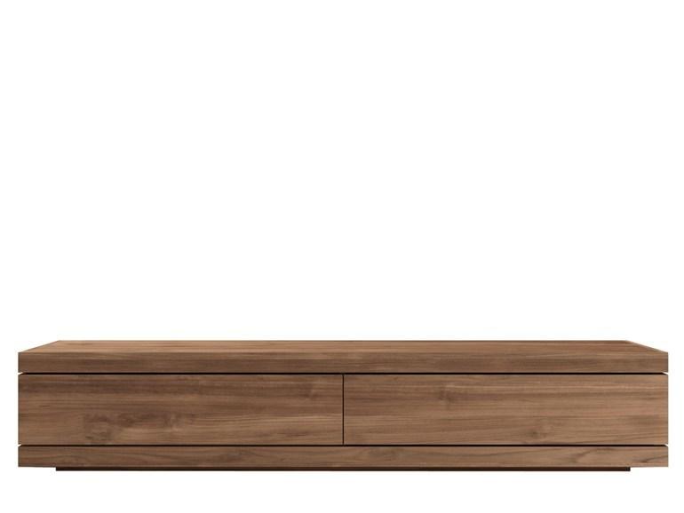 Ethnicraft Burger TV Cupboard teak tv-meubel-Medium