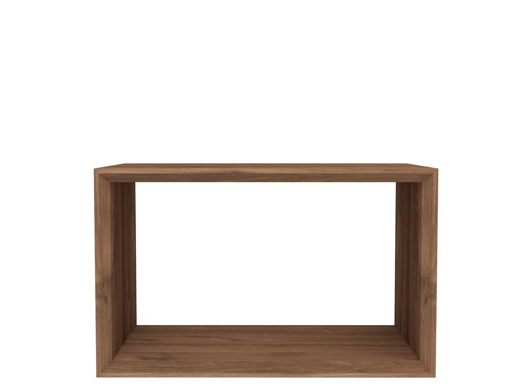 Ethnicraft cube teak tafel118x42 cm ethnicraft in de aanbieding kopen - Cube nachtkastje ...