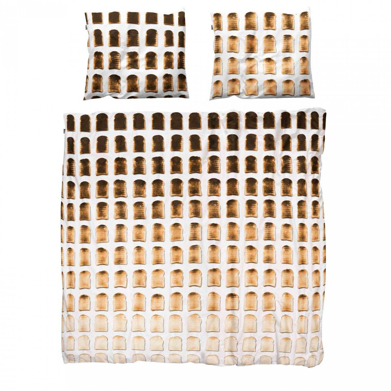 Snurk Toast dekbedovertrek-240x220 cm