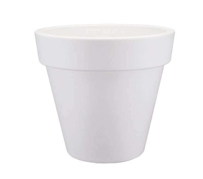 Elho Pure Round bloempot-Wit-∅ 120 cm