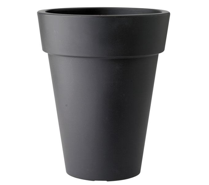 Elho Pure Round high bloempot-antraciet-∅ 45 cm