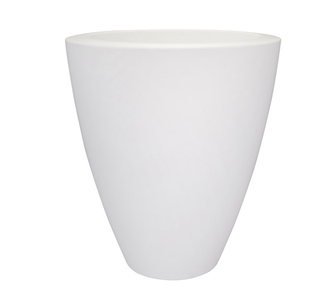 Elho Pure Soft Oval High bloempot -∅ 70 cm-Wit