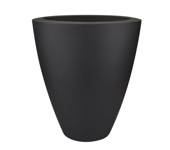 Elho Pure Soft Oval High bloempot -antraciet-∅ 60 cm