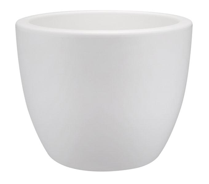 Elho Pure Soft Round bloempot-Wit-∅ 40 cm