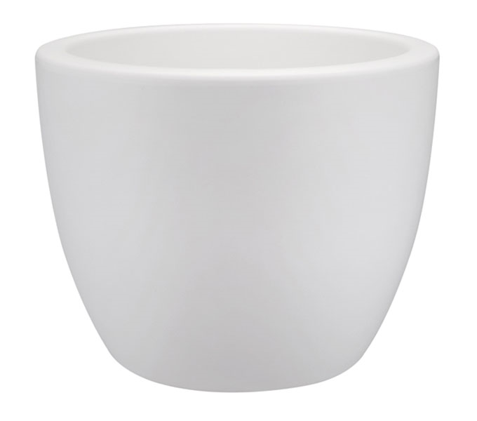 Elho Pure Soft Round bloempot-Wit-∅ 60 cm