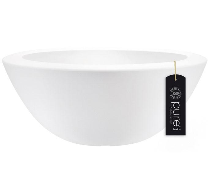 Elho Pure Soft schaal-Wit-∅ 80 cm
