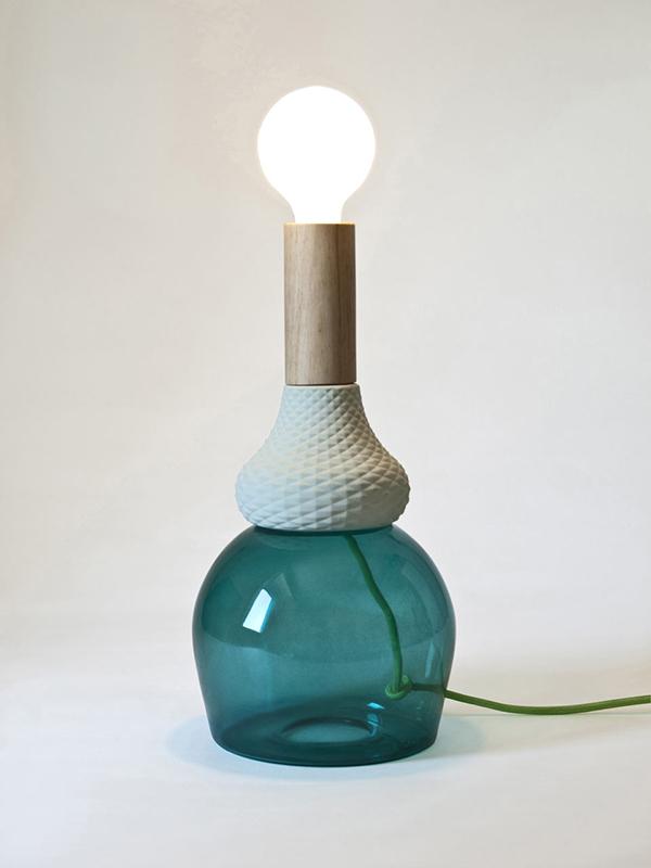 Seletti MRND tafellamp-Groen