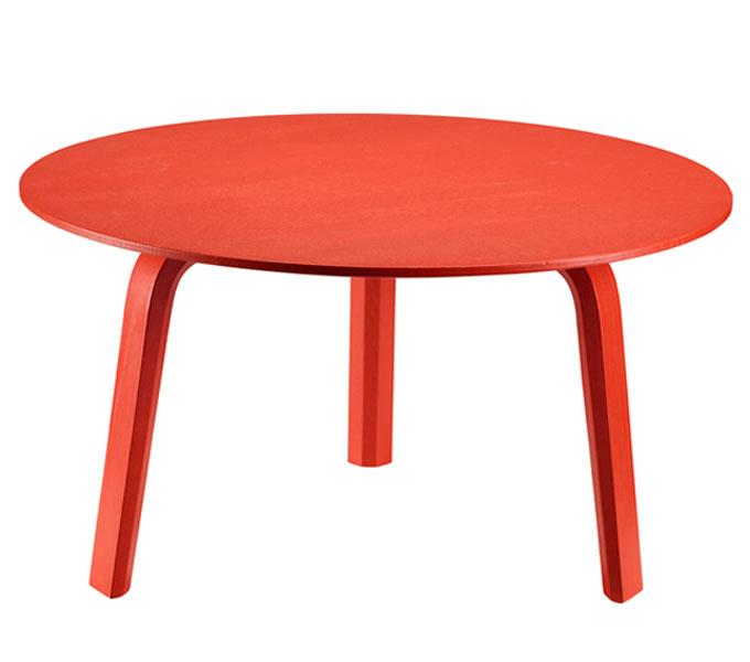 HAY Bella salontafel-Rood-39 cm hoog