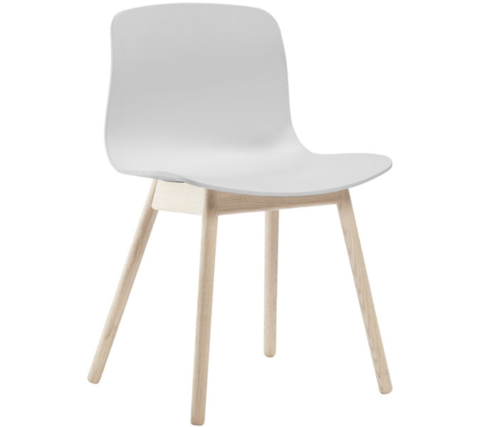 HAY About a Chair AAC12 stoel-Frame blank-Wit