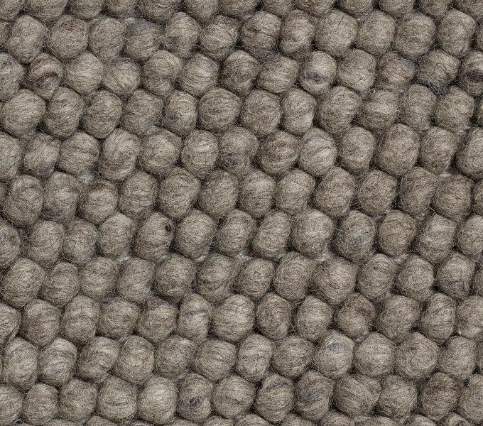 HAY Peas vloerkleed-Dark grey-80x140 cm