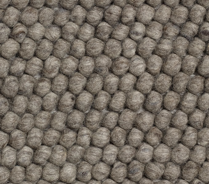 HAY Peas vloerkleed-Dark grey-140x200 cm