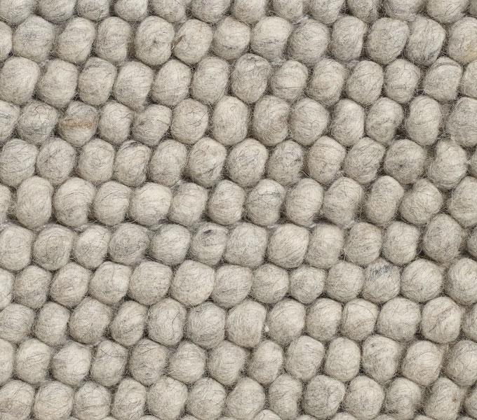 HAY Peas vloerkleed-Soft grey-80x200 cm