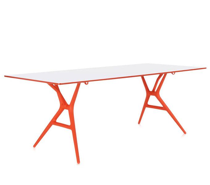 Kartell Spoon Table tafel-Oranje-160x80 cm