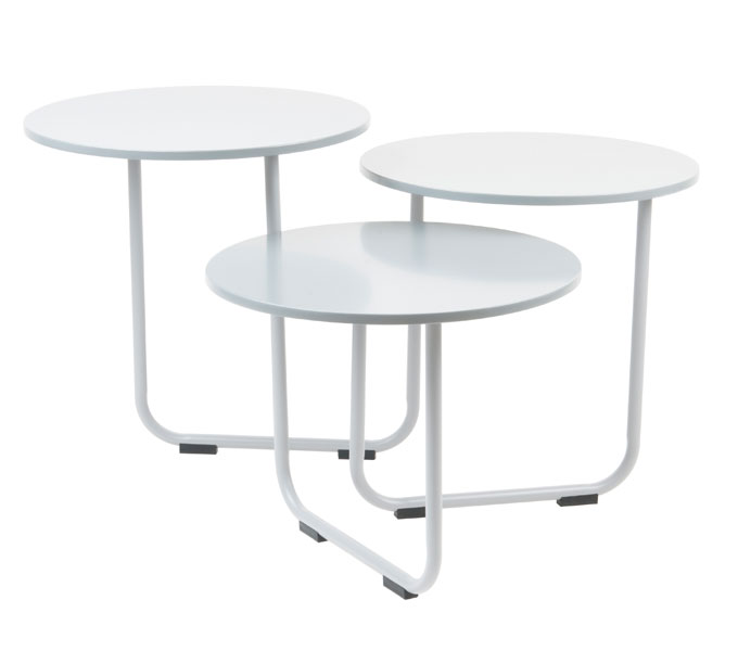 Leitmotiv Super Swivel tafel -Wit