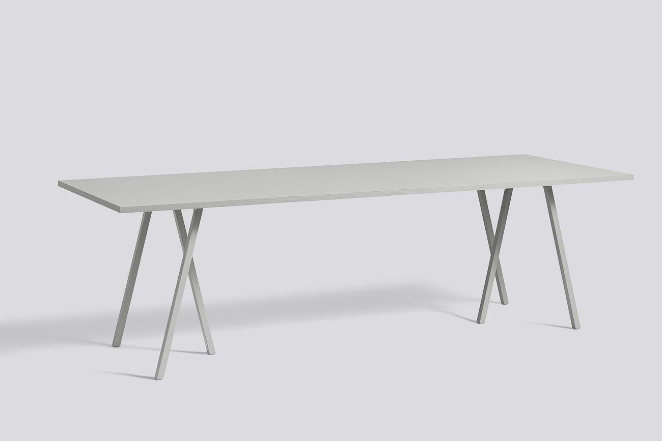 HAY Loop stand tafel-180x87,5 cm-Grijs