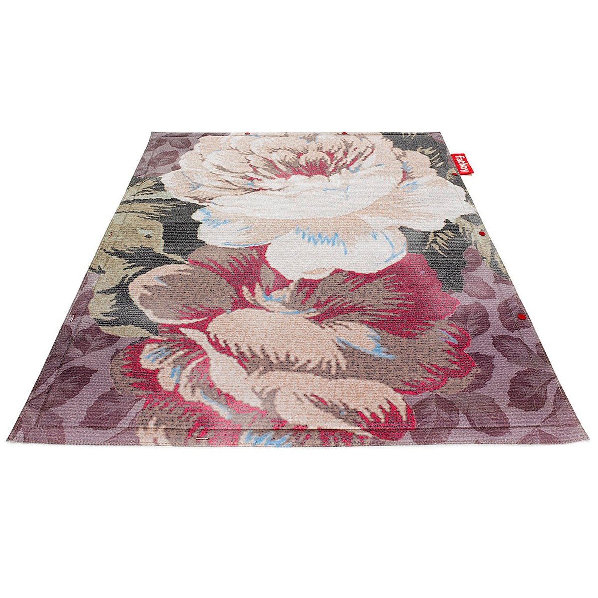 Fatboy Non Flying Carpet vloerkleed-Big Floral Blue