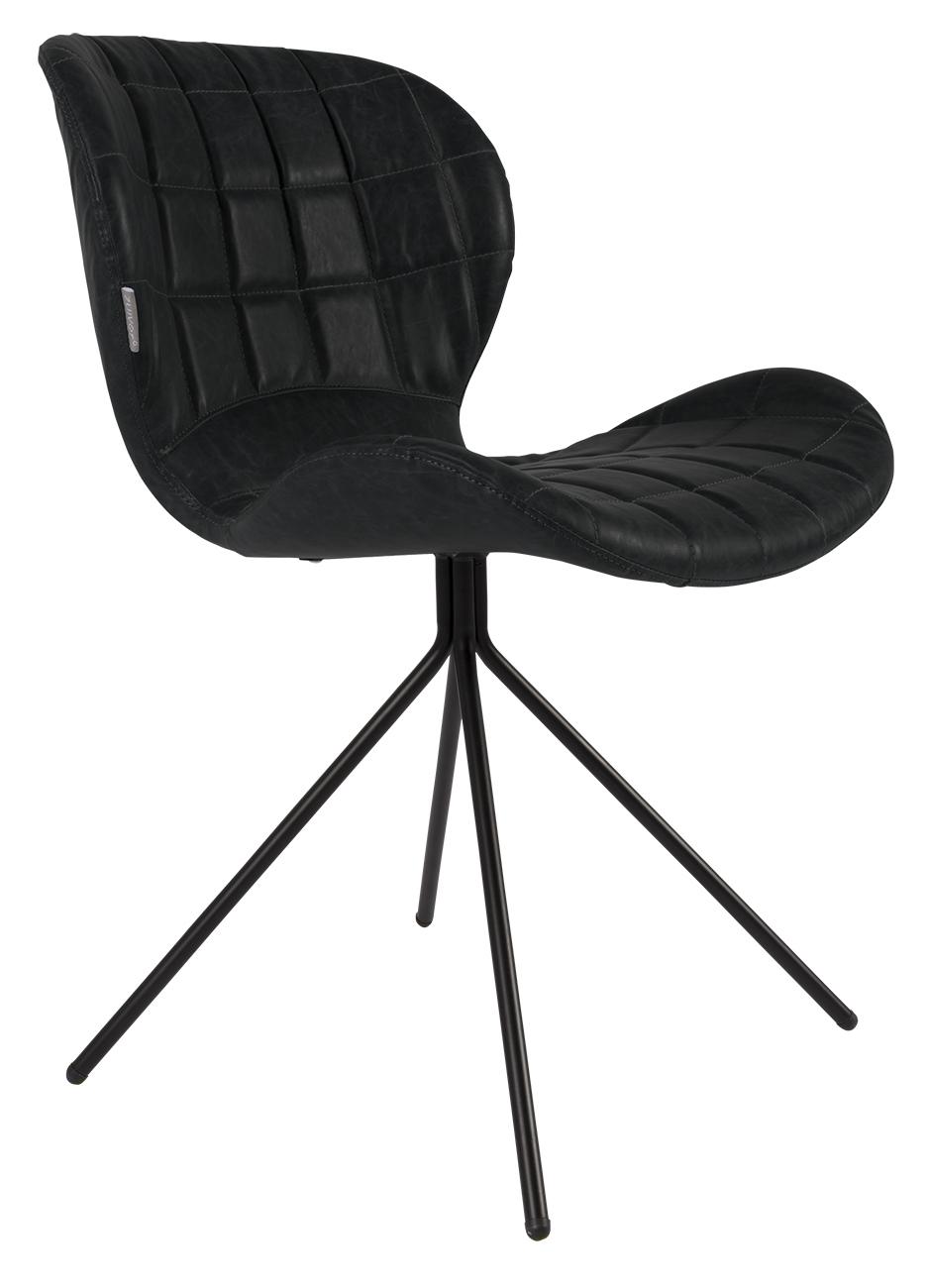 Woonwinkel :: zuiver stoel ridge rib brushed metal okelgeel   euro ...