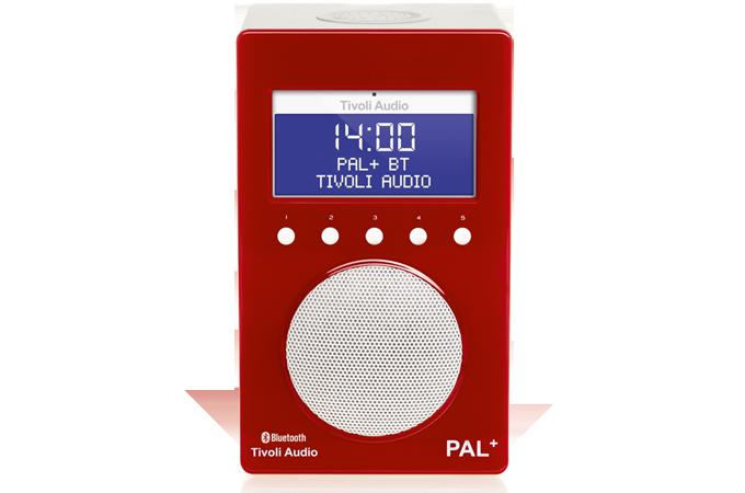 Tivoli Audio Pal +-Rood