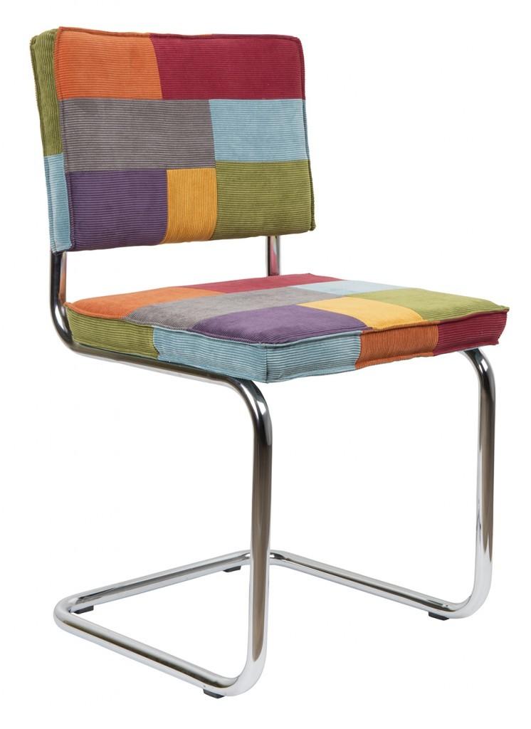 Zuiver Ridge Rib Multicolor stoel