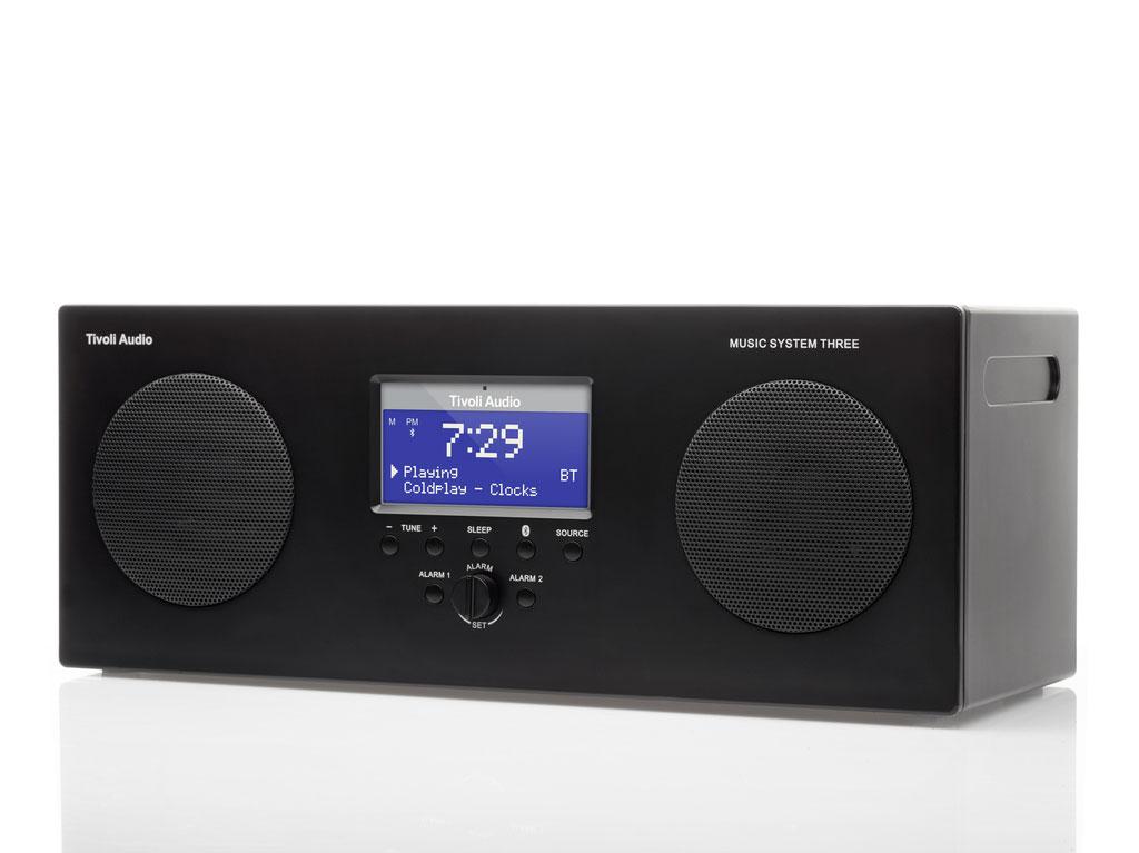 Tivoli Audio Music System Three-Zwart