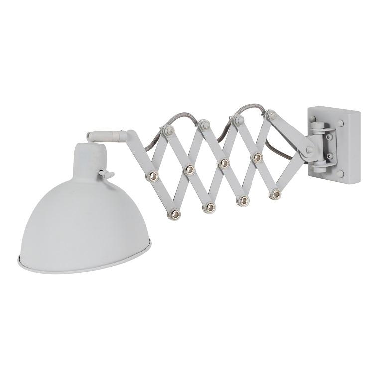 Bodilson Dixie wandlamp-Licht grijs