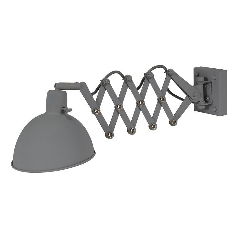 Bodilson Dixie wandlamp-Donker grijs