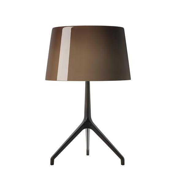 Foscarini Lumiere XXS tafelamp-Bruin-Black chroom