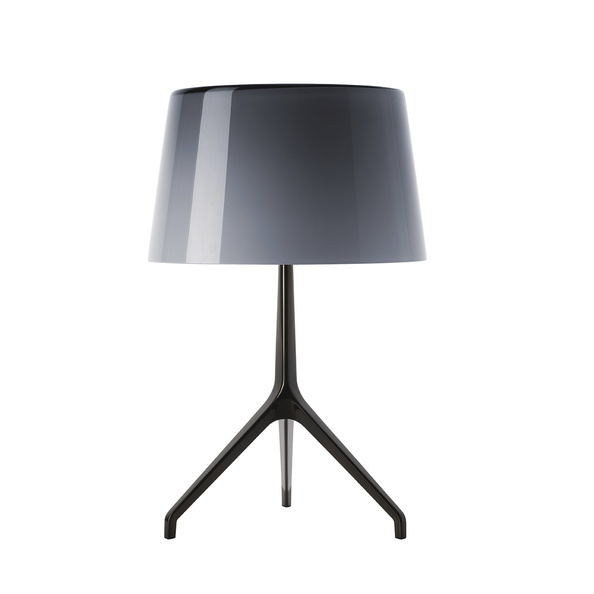 Foscarini Lumiere XXL tafellamp-Black chroom-Grijs