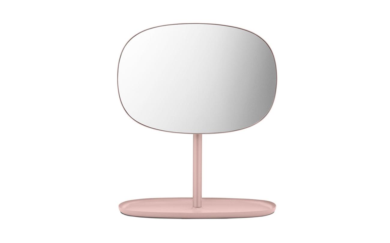 Zuiver Leaning Spiegel : Normann copenhagen flip spiegel powder