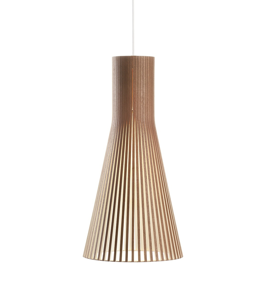 Secto Design Secto 4200 hanglamp-Walnoot