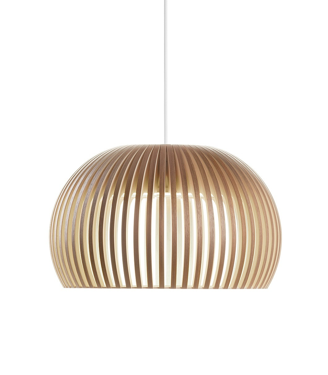 Secto Design Atto 5000 hanglamp-Walnoot