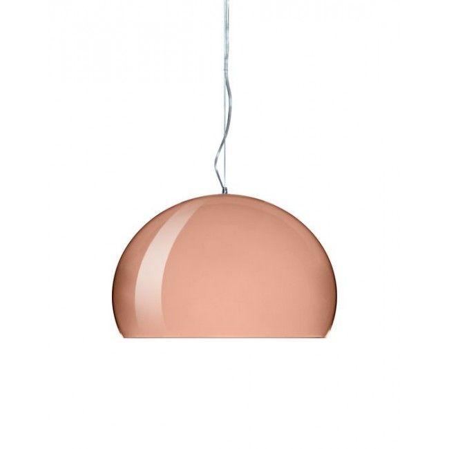 Kartell Small Fly LED hanglamp-Koper