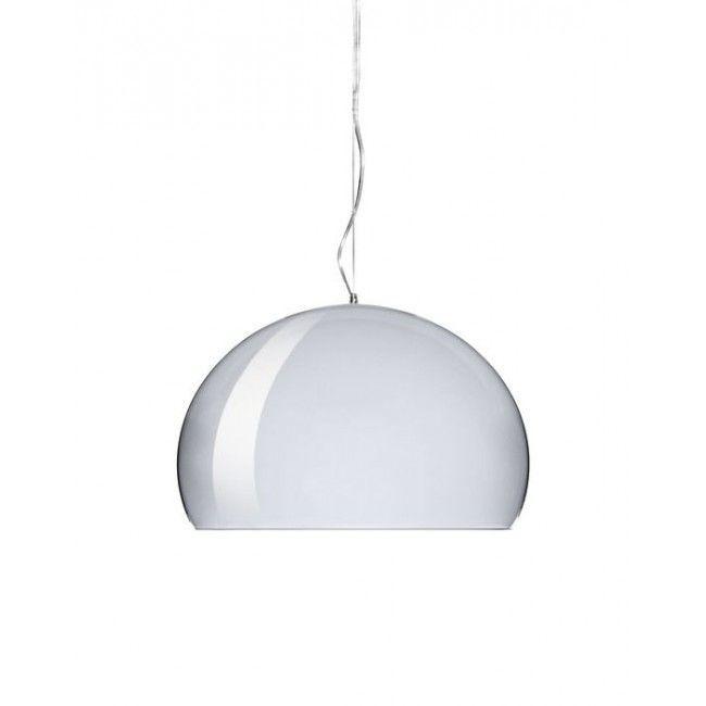 Kartell Big Fly LED hanglamp-Chroom