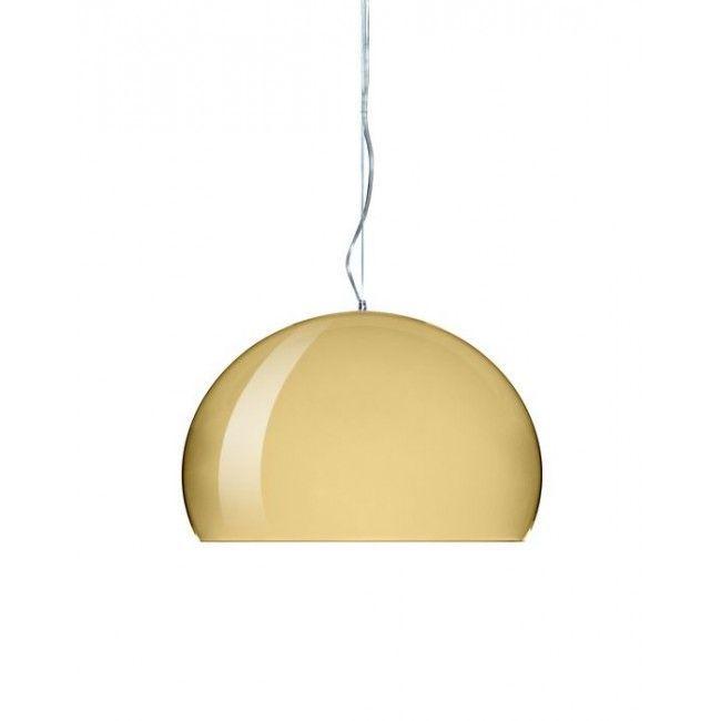 Kartell Small Fly LED hanglamp-Goud
