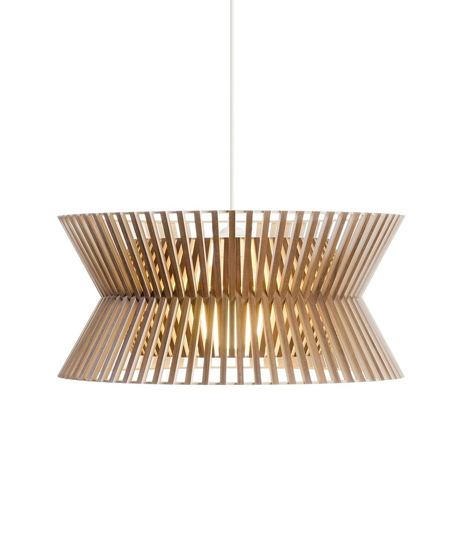 Secto Design Kontro 6000 hanglamp-Walnoot