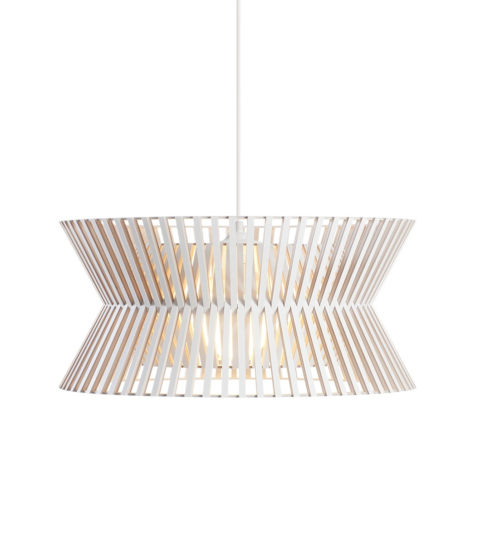 Secto Design Kontro 6000 hanglamp-Wit