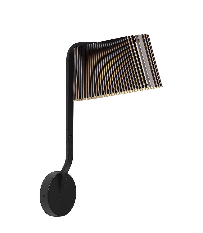 Secto Design Owalo 7030 wandlamp-Zwart