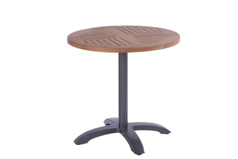 Hartman Bistro teak table rond Antraciet