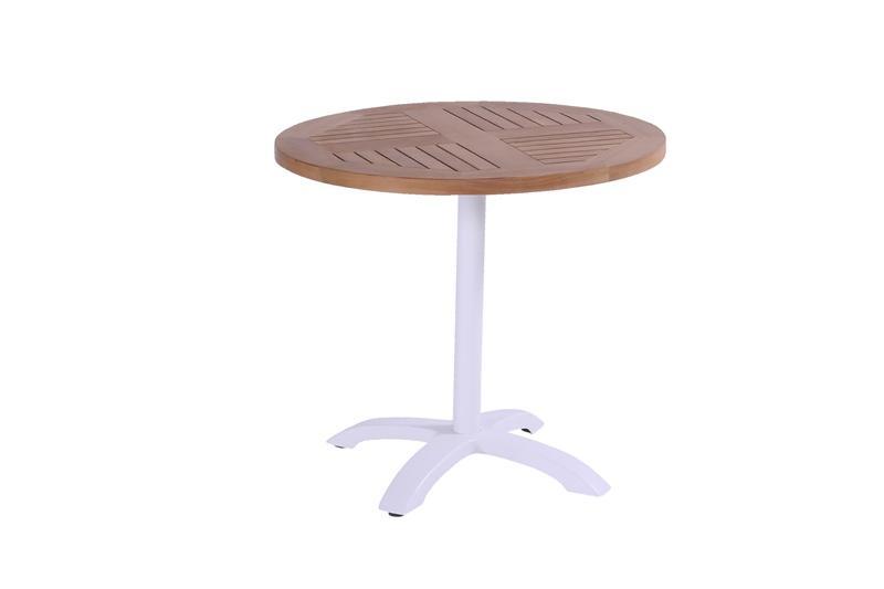 Hartman Bistro teak table rond Wit