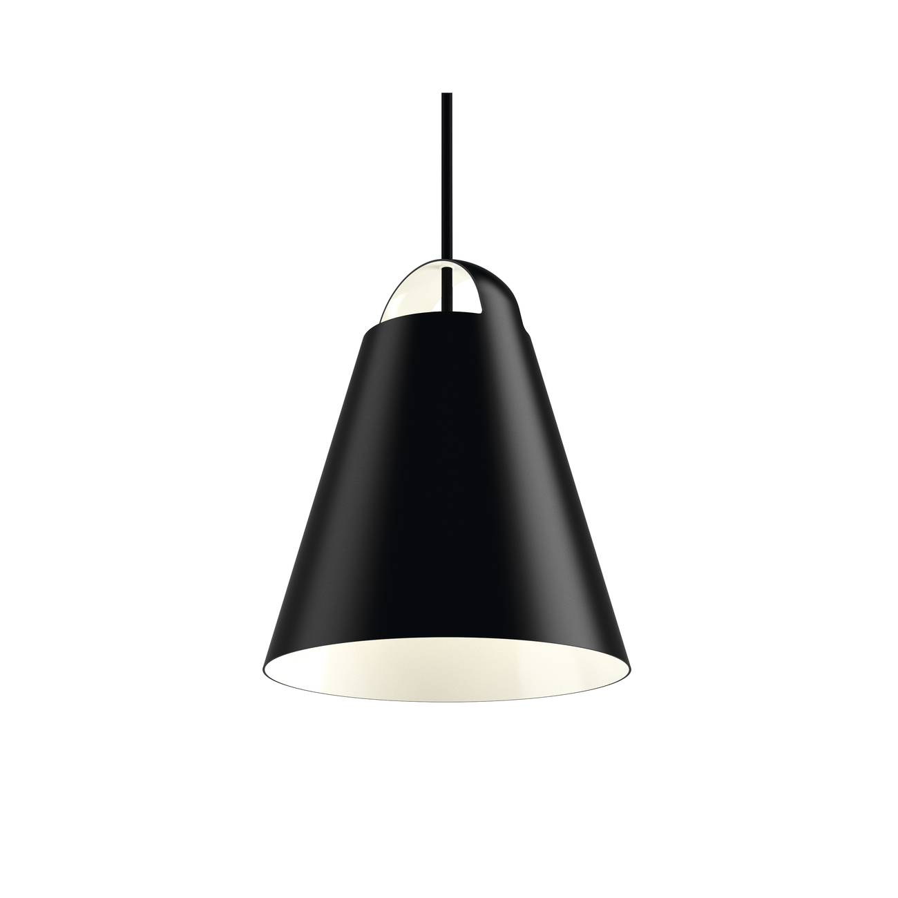 Louis Poulsen Above hanglamp-Zwart-� 25 cm