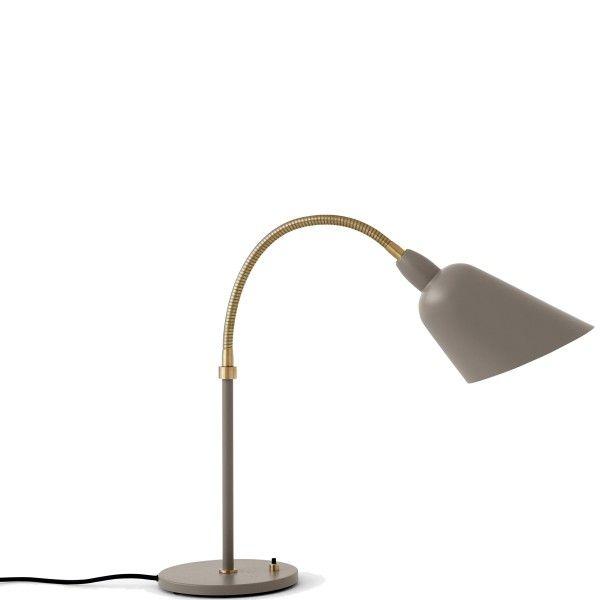 &tradition Bellevue tafellamp-Grijs beige