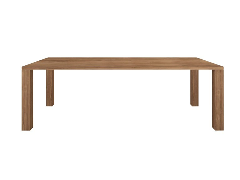 Ethnicraft Apron Dining Table teak tafel-240x100 cm