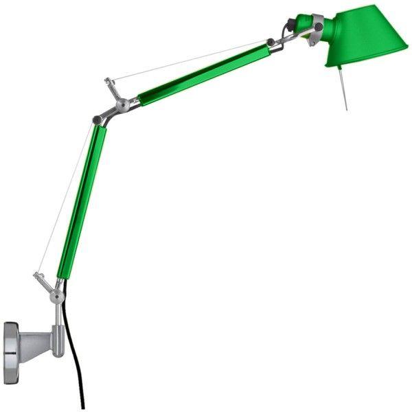Artemide Tolomeo Micro Parete wandlamp-Groen
