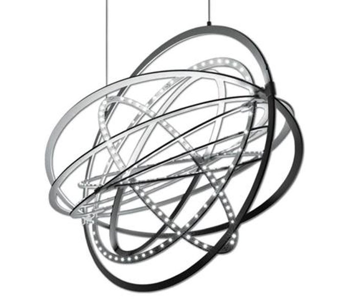 Artemide Copernico suspensione hanglamp-Aluminium