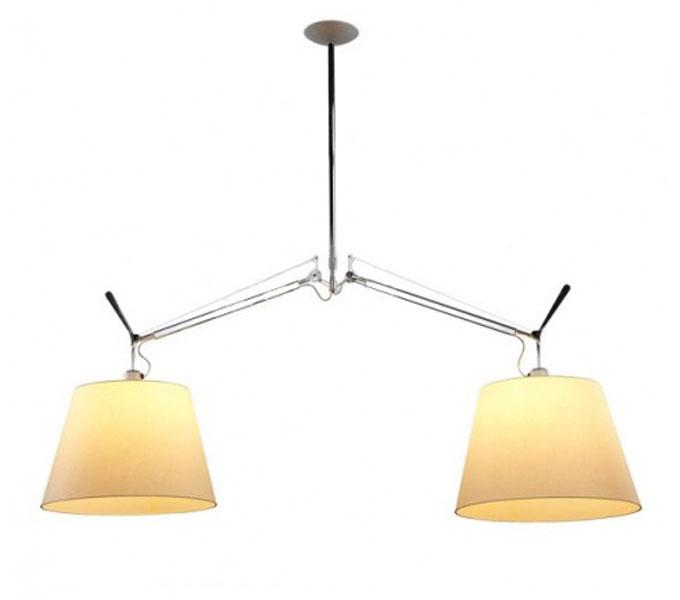 Artemide Tolomeo Basculante hanglamp-Perkament-Kap � 42 cm