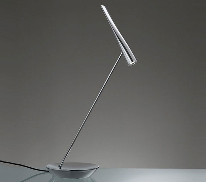Artemide Egle LED tafellamp-Chroom