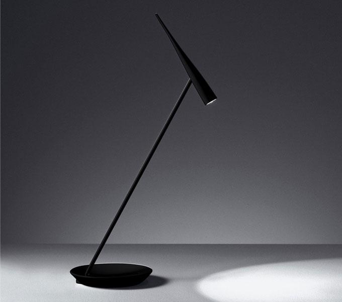 Artemide Egle LED tafellamp-zwart