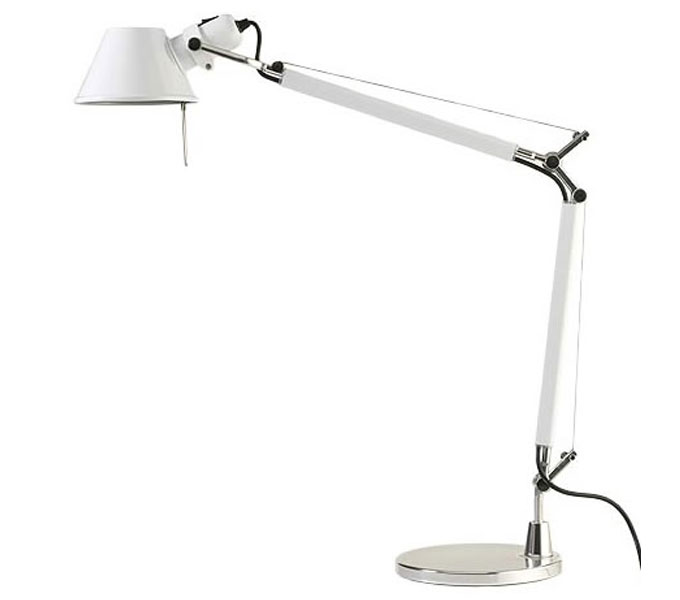 Artemide Tolomeo mini tafellamp-Wit