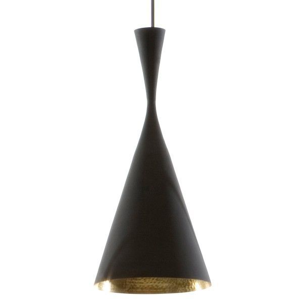 Tom Dixon Beat Light Tall hanglamp-Zwart